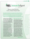 August 2013 REL West Research Digest Features Dropout Prevention